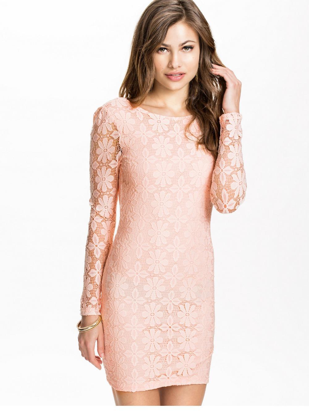 pink prom mini dress