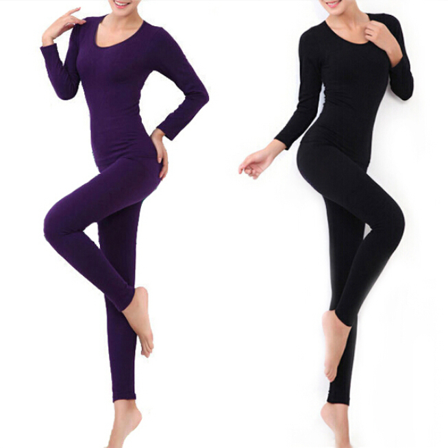 Winter Thermal Underwear Women 2014 New Arrival High Quality Sexy Slim Comfortable Casual Warm Top And Pant Long Johns NBT048(China (Mainland))