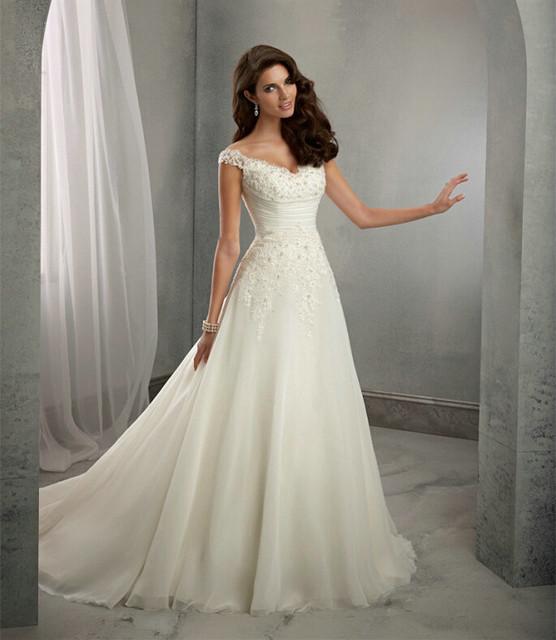Жилетido де Noiva пляж свадебное платье Casamento линия рукавом одеяние де свадебная ...