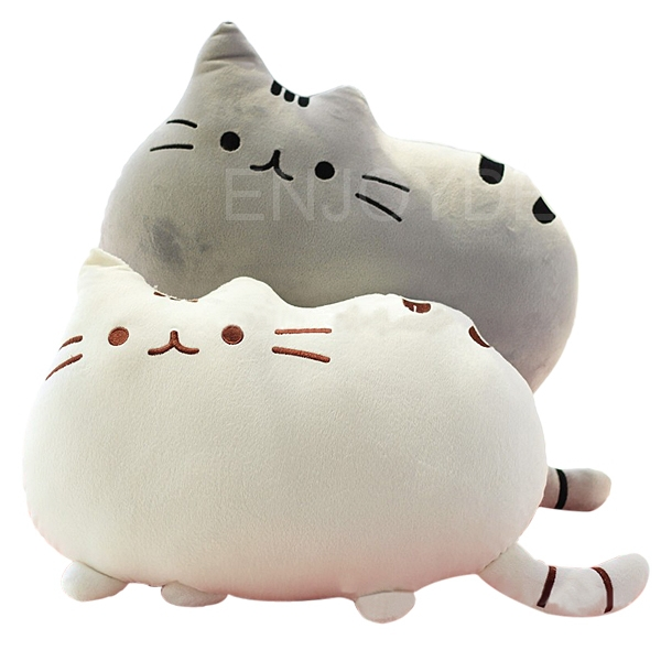 Cute Big Cat Shaped Pillow Cushion Soft Plush Toy Doll Home Decoration(China (Mainland))