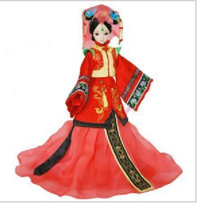 2016 chicas más populares de juguete muñeca 29 cm colección clásica de la antigüedad China niñas novias regalos de juguetes de envío puerta(China (Mainland))