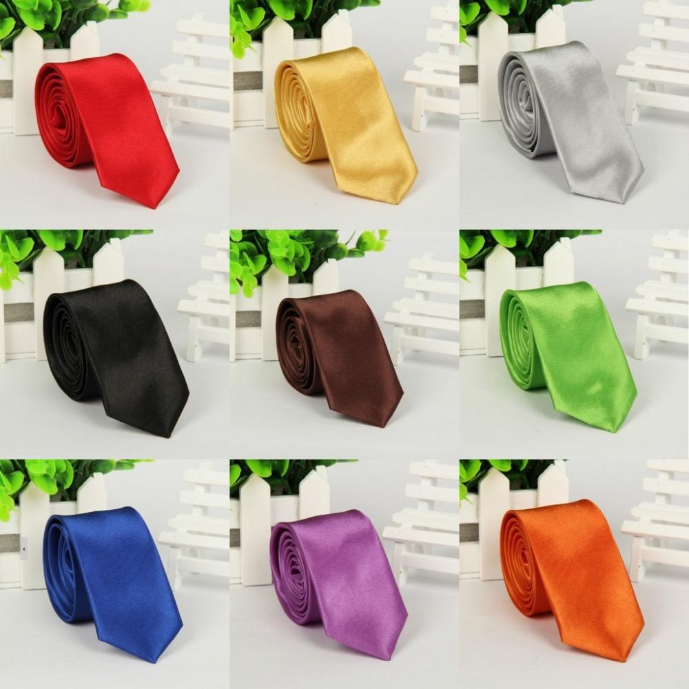 gravatas masculinas solid color tie women/men fashion brand neckties wedding/party/business necktie adult corbatas - Boutique Accessories Shop store