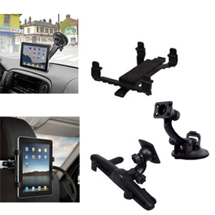 "For iPad / Tablet PC / GPS Multi-Direction Car Seat Headrest Stand Mount Holder for ipad 2 3 4 5 mini  8"" 9"" 10"" 11 Car Bracket"
