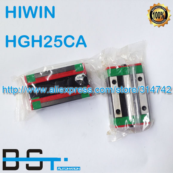 New Original HIWIN Linear rail carriage HGH25CA # match with HGR25 Guideway(China (Mainland))