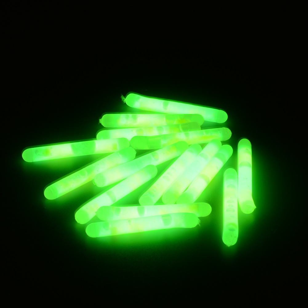 15X Mini 4 5x36mm Fishing Fish Fluorescent Lightstick Light Night Float Rod Lights Dark Glow Stick