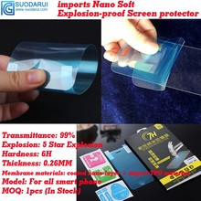 7H Soft Nano-coated Explosion-proof Films Lenovo A2010 Screen Protectors better tempered glass films - Suodarui Technology Limited (HK store)