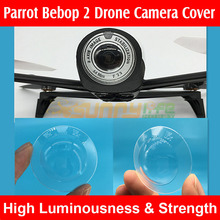 Camera Cover Lens Protector Transparent Shell for Parrot Bebop 2 Drone