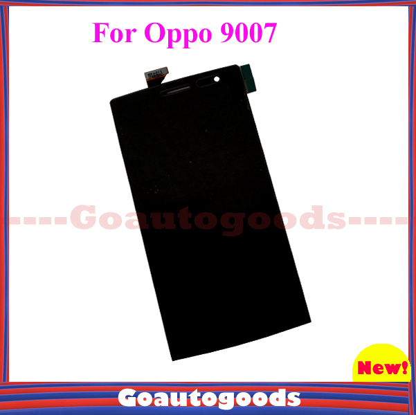 In Stock! Touch Screen Digitizer Replacement for OPPO 9007 Smart phone Black color Free Shipping(China (Mainland))