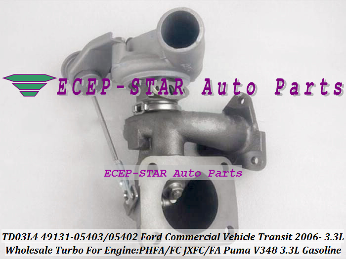 TD03L4 49131-05403 49131-05402 Turbo Turbocharger For Ford Commercial Vehicle Transit 2006- PHFA PHFC JXFC JXFA Puma V348 3.3L (3)