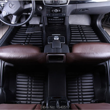Full-surrounded car floor mat custom fit for AUDI A1 A3 A4 A5 A6 A7 A8 Q3 Q5 Q7 A4L A6L A8L S5 TT car styling accessories carpet(China (Mainland))