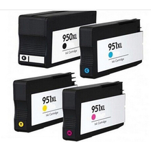 4 Compatible hp950 hp951 Ink Cartridge for HP 950 951 XL Officejet Pro 8100 8600 8630 8610 8620 8680 8615 8625 Printer with chip