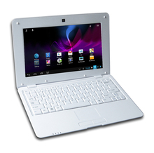 New 10 inch Android 4.2 Christmas Gift Netbook Notebook Laptop Computer 1G/8G Dual Core Russian keyboard available camera wifi