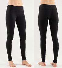 long black yoga pants - Pi Pants