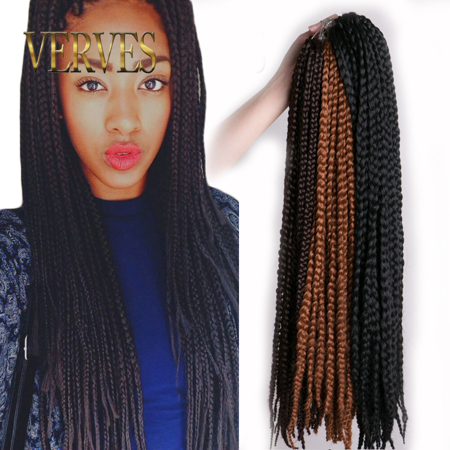 Crochet Box Braids Canada : Box-Braids-Hair-Crochet-22inch-Crochet-Hair-Extensions-Synthetic ...