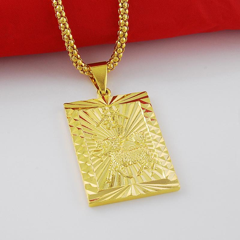 jp118 men high grade fashion jewelry vacuum 24k gold