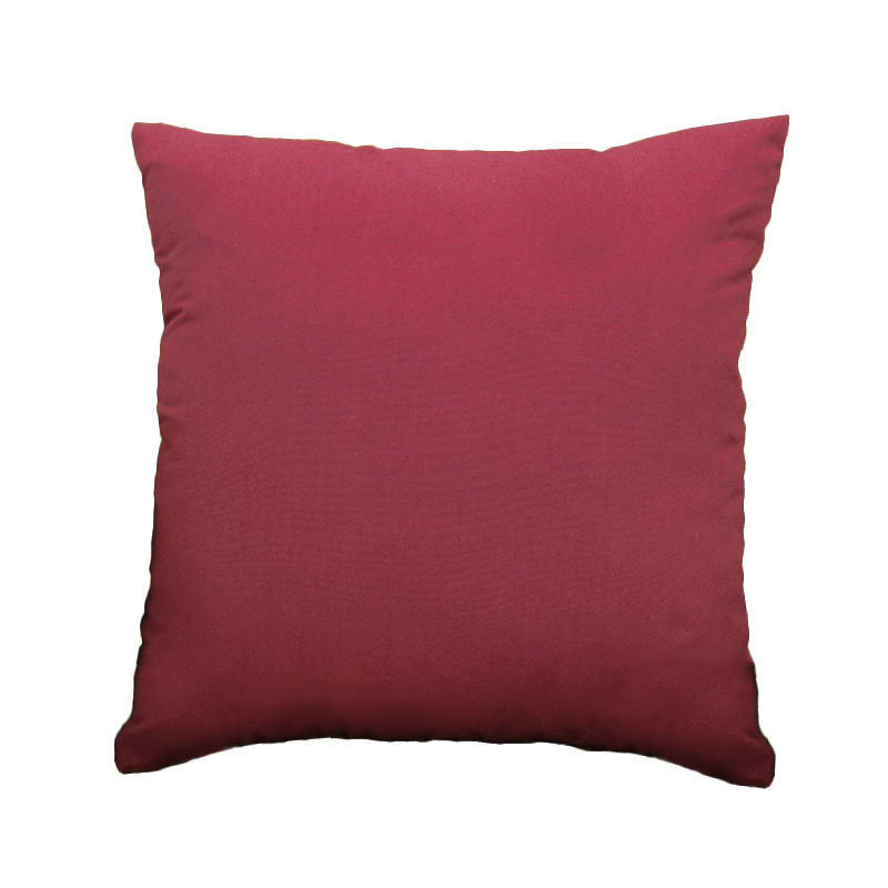 Gracious Home Decorative Pillows : Fashion Simplicity Generous Solid Color 45cm Lovely Square Throw Pillow Candy colors Home ...