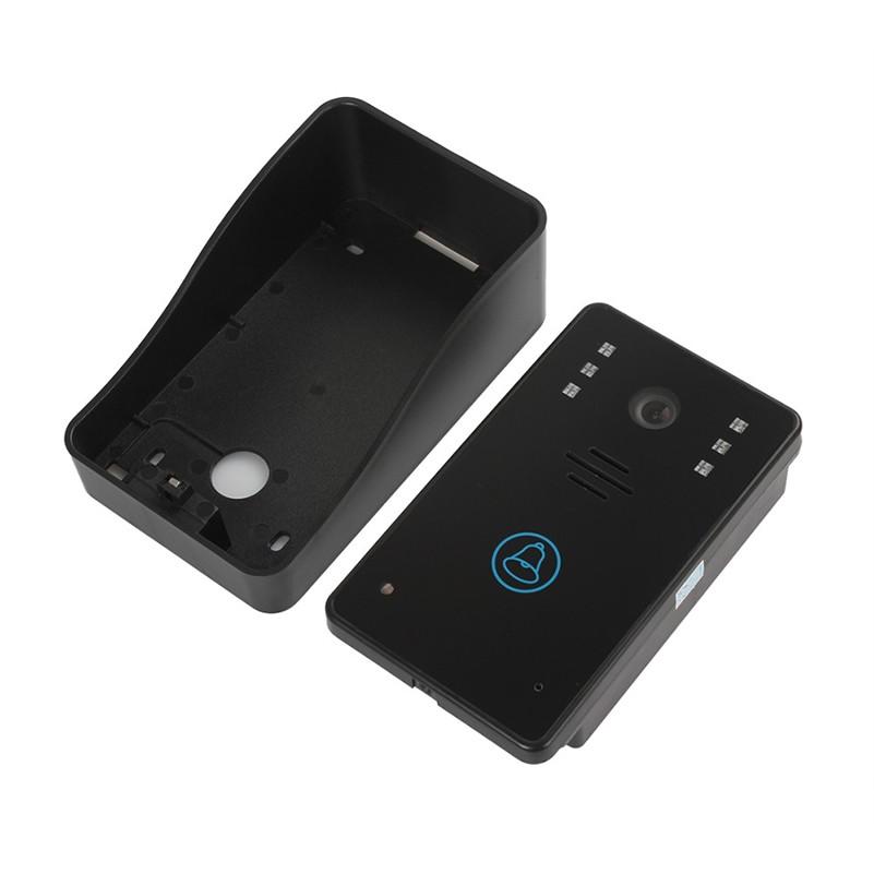 7 Inch LCD Touch Monitor Video Door Phone Doorbell IR Night vision Camera 4GB SD Card Recording Video Intercom Record video