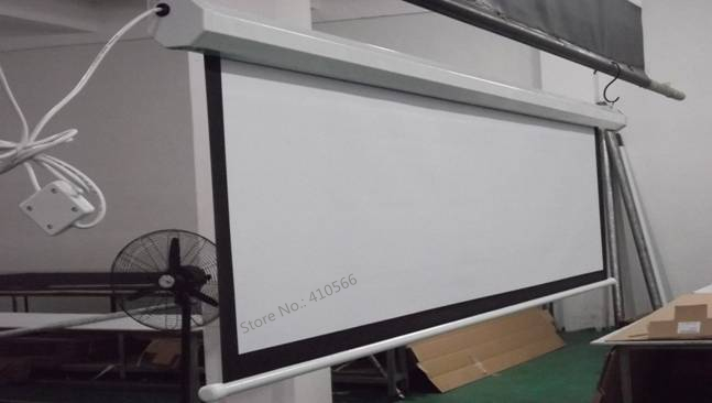 150 inch motorized screen pic 7