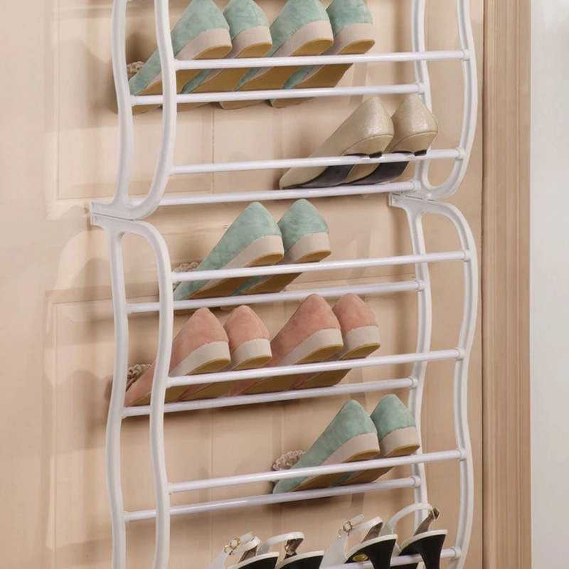 Free Shipping 12 Layers Shoes Rack Holder Amazing Storage Home Organizer Shoes Storage Home Furniture Shoe Cabinet(China (Mainland))