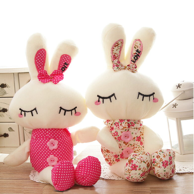 "11.5"" 28cm 1pcs/Lot Metoo Love Rabbit Little Bunny Plush Toys Small Stuffed Animals Wedding Gift For Sale(China (Mainland))"