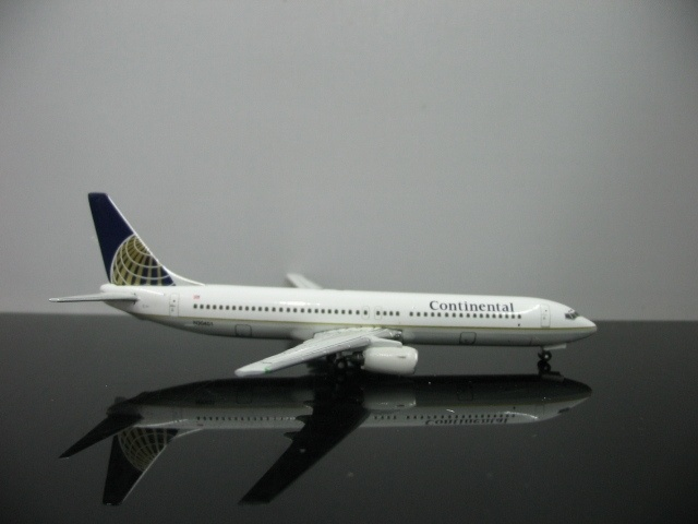 1:500 U.S Continental Airlines Boeing 737-900 Aircraft Model N30401 Airplane Best For Collector(China (Mainland))