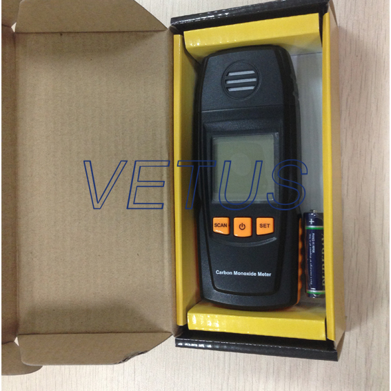 GM8805 handheld gas alarm detector, carbon monoxide detector from Vetus company