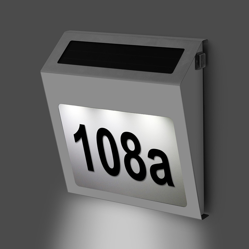 Popular lighted house address numbers buy cheap lighted Led house numbers