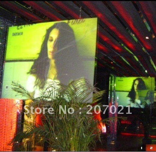 Window shopping display Transparent holographic Projection film projector screen,eotech holographic screen,free shipping!(China (Mainland))