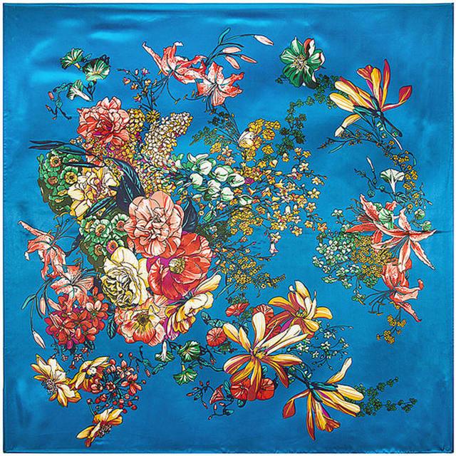 90 см * 90 см новое поступление 2016 сплошной цвет шелк шифон шарфы весна и осень женщин сплошной цвет шарф бесплатная доставка cachecol