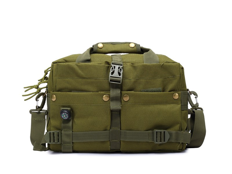 ONWARDS New Arrival Laptop Bags Men's Fashion Design Army green Messenger Bags For Outdoor Travel Hiking Camping Trekking Sports
