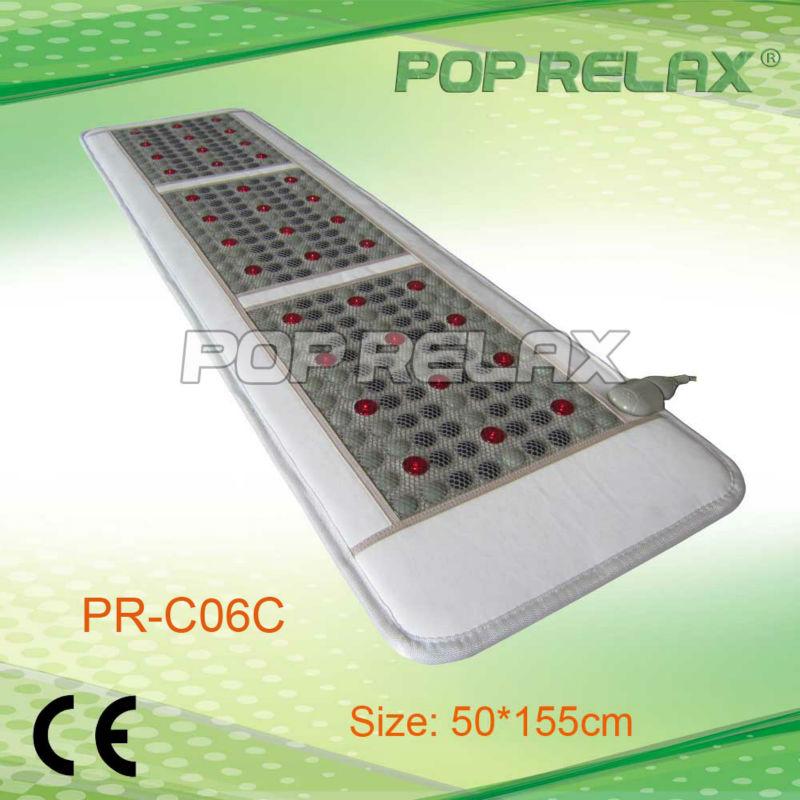 Photon tourmaline jade mat thermal heat therapy PR-C06C 50X155cm POP RELAX<br><br>Aliexpress