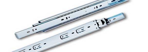 Gold 8-inch small drawer slide rail 20cm long pull ball slide rail track three wide thick 45(China (Mainland))