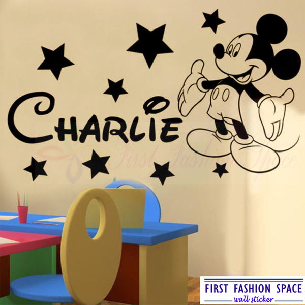 Marvelous Baby Mickey Mouse Wall Stickers Photogram . Part 17