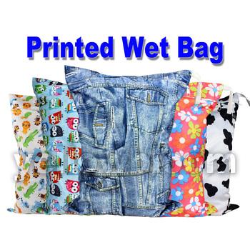 Моющиеся многоразовые ткань подгузник мокрый мешок / водонепроницаемый плавать спорт ...