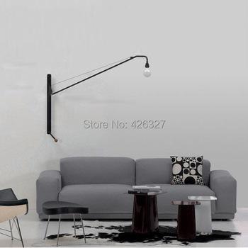 창조적 인 조절 벽 램프 침실 침대 옆 램프 작업 연구 실용적인 ...