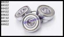 Buy 10pcs/Lot 692ZZ 692 ZZ 2x6x3mm Mini Ball Bearing Miniature Bearing Deep Groove Ball Bearing Brand New for $5.49 in AliExpress store