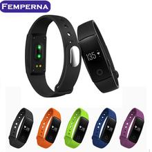In stock Heart rate monitor smart wristband Bluetooth 4.0 smart band Distance track Anti-lost smart bracelet pk mi band 2 1s(China (Mainland))