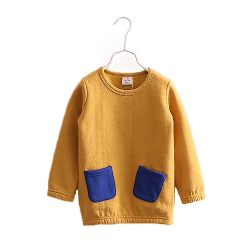 2016 girls clothing crew neck lolita 2 3  4 years kids ball gown children dress skirt warm breath soft cotton kawaii clothes<br><br>Aliexpress
