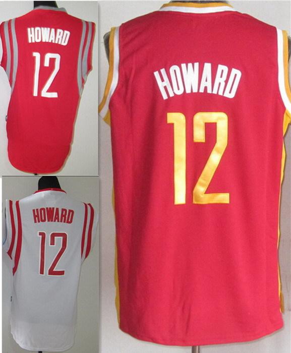 #12 Dwight Howard Jersey Embroidery Logo Sports Jersey Entertainment Sportswear Throwback Basketball Jerseys Free Shipping(China (Mainland))