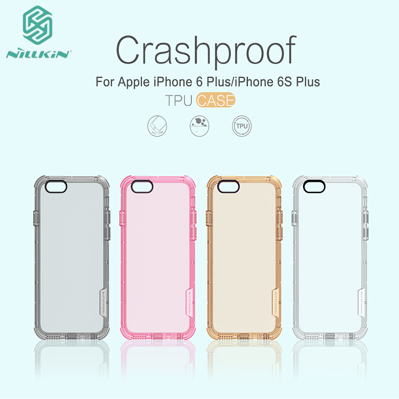 For iPhone 6/6plus Mobile Phone Case Nillkin imported environmental TPU material With SGS international certification Cover bag(China (Mainland))
