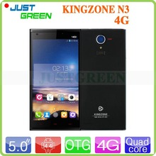 Original KINGZONE N3 4G LTE Cell Phones MTK6582 +6290 Quad Core Android 4.4 5 inch IPS 1280*720 13MP Camera Dual SIM NFC OTG GPS