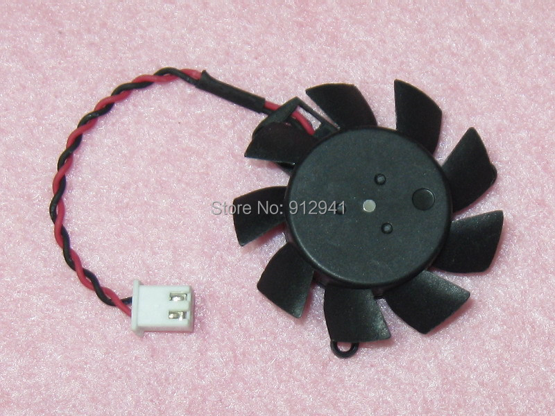 Cooler Master FY04010M12LNB 37mm Graphics / Video Card VGA Cooler Fan Replacement 31mm 12V 0.20A 2Wire 2Pin Connector(China (Mainland))
