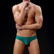 Men's underwear mesh breathable U convex sexy briefs Bikini fashion underwear 4007DK