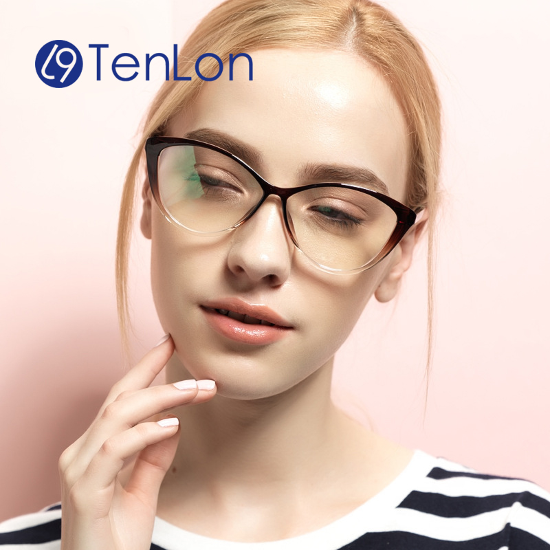 fashion cat style glasses frame for women eyeglasses oculos feminino de grau fashion brand designer eyeglasses