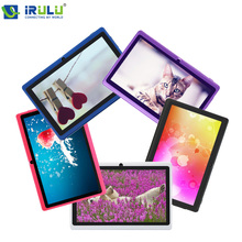 """iRULU X1 7"""" Tablet 1.5GHz Quad Core Android 4.4 16GB ROM Dual Camera Tablet PC Support OTG WIFI With Multi Color Hot Sale"""
