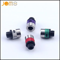 2pcs Electronic Cigarette Atomizer Nozzle Royal 100w Mouthpiece Airflow Adjustable 510 Metal Drip Tip for RTA