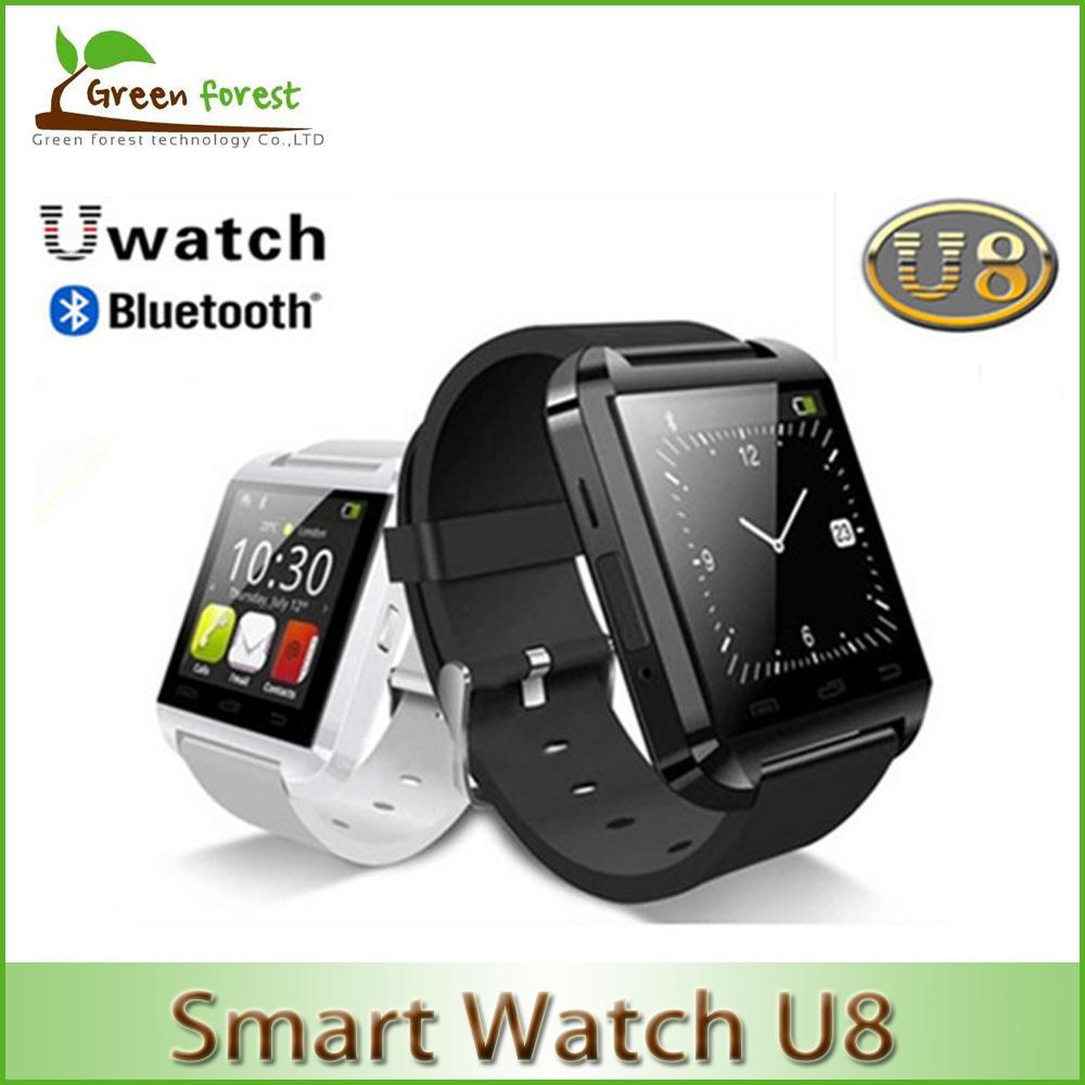 2015 HotBluetooth Smart Watch WristWatch U8 U Samsung S4/Note 2/Note 3 HTC LG Huawei Xiaomi Android Phone Smartphones
