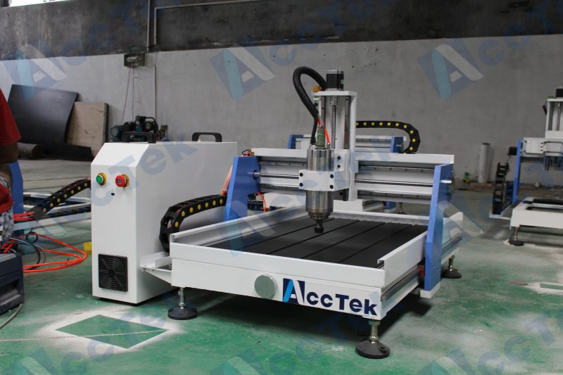 New !! 6090 cnc router machine 4 axis lathe for wood(China (Mainland))