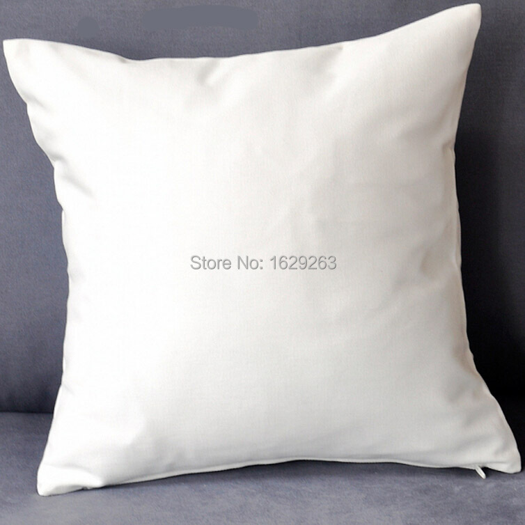 100pcslotplain white color pure cotton cushion cover  :  100pcs lot plain white color pure cotton cushion cover with hidden zip for customized print from www.aliexpress.com size 754 x 754 jpeg 93kB
