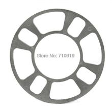 TIROL T21608a Universal Wheel Spacer 4 hole 5mm thick Aluminum Wheel adapter fit 4 lug 4x101.6 4x108 4x112 4x114.3 FREESHIPPING(China (Mainland))